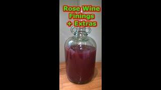 Wilko Rose Wine Finings & Degassing #90 Homebrew Beer Wine Spirits