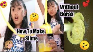 How to Make Slime Without Borax (Easy) | Philippine | Kathleen G.