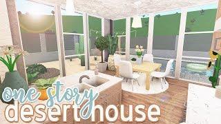 ROBLOX | Bloxburg: One Story Desert House 85k