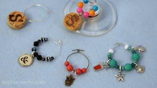 How to Make Beautifully Simple Wine Charms from Paper Clips | Sophie's World