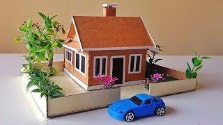 Building an Easy Cardboard House with Garden #59   Backyard Crafts