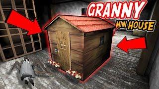 Building A Tiny House INSIDE GRANNY'S HOUSE!!! | Granny The Mobile Horror Game (Mods)