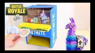 DIY how to make a Fortnite Vending Machine