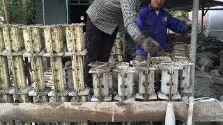 Making | Production and Install A Concrete Fence Precast | How to Make Fence Cement For House