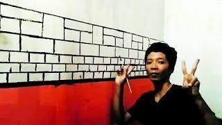 Tutorial Mudah Cat Tembok Motif Kubisme | Cat Tembok Kreatif!