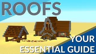How to Build a Roof in Minecraft (The Essential Minecraft Roof Guide By Avomance 2018)