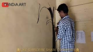 Tree wall painting...