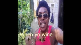 Pejolink - When Yo wine(Official Audio)