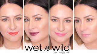 Wet n Wild Megalast Lipstick Swatches - All 30 Shades