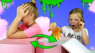 Mystery Box Of SLIME GLOVES Switch Up Challenge!!!