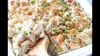 Tuna Macaroni Salad - Easy Pasta Salad Recipe - I Heart Recipes