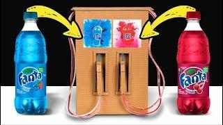 DIY Cold Drinks Dispenser????How to Make Drinks Fountain Machine????