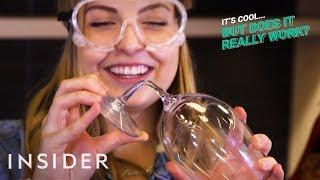 Unbreakable Wine Glasses  | It's Cool, But Does It Really Work?