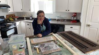 ???? Home Decor Fall DIY Stamping and Painting Live Part 1