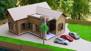 How To Make A Beautiful Small First Floor Villa Using Cardboard | Home Design & DIY