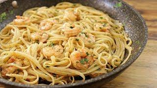 Shrimp Scampi with Pasta | How to Make Shrimp Scampi