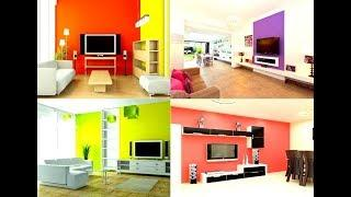 TV wall Color Combination ideas | 100 Simple TV Unit Designs for Living Room 2019
