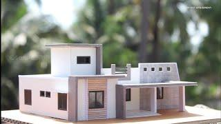 how to make house design for cardboard