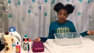 FIRST LIT VIDEO MAKING SLIME