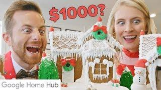 Home-Cooked Vs. $1000 Gingerbread House