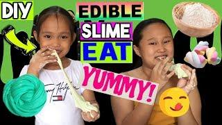 MARSHMALLOW EDIBLE SLIME | SLIME YOU CAN EAT (Philippines 2019) How to make slime