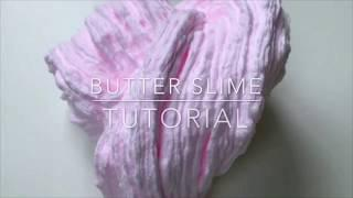 HOW TO MAKE SIZZLY BUTTER SLIME