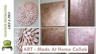 ART - Made At Home/ EASY Drift  Wood & Abstract ART