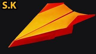 How To Make Best Paper Airplane For Long Distance Flying For Kids or Beginners