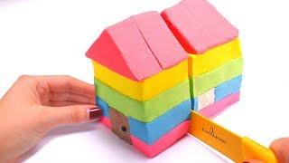 How To Make a House With Kinetic Sand ???? Kinetic Sand Satisfying and Relaxing Videos For Kids