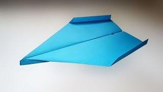 How To Make an Easy BOOMERANG Plane - Paper Airplane That Flies Back
