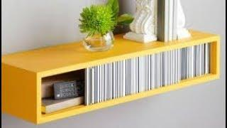 Modern Wall Shelf for home decor ideas ! wall decor