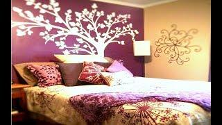 Latest Bedroom Color Ideas | Top 50 Purple Painting Colour Combination For Bedroom 2019