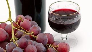 Easy homemade grape wine| 4 ingredients wine