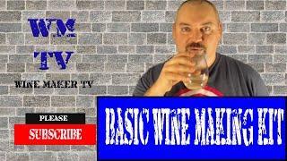 Basic Wine Making Setup