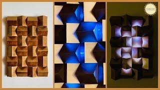 Unique Wall decoration Ideas| gadac diy| craft ideas| Best out of waste| wall hanging| paper crafts