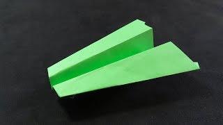 Como Hacer un Avión de Papel Que Vuela Lejos - THE HAMMER - Paper Airplane