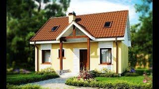 82,86 m² A Small House, Cheap And Easy To Build, Also Ideal For A Small Plot Seasonal