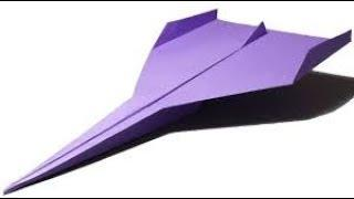 How to Make a paper plane that flies 100+ feets  by Fun With Mohit