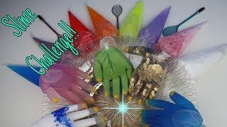 Krema poşetinden ne çıkarsa Slime challenge DIY MAKING SLIME WITH PIPPING BAG Bidünya Oyuncak
