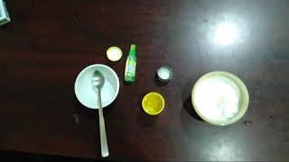 How to make slime using borax acid easily
