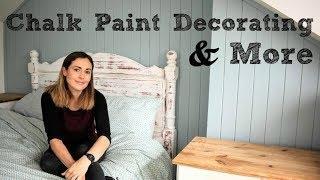 Chalk Paint Decorating on Walls & Furniture | The Carpenter's Daughter
