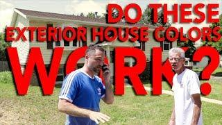 Do these exterior house colors work? | In The Life 86