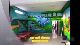 3D Spray and Wall Painting Hyderabad by 8333833355