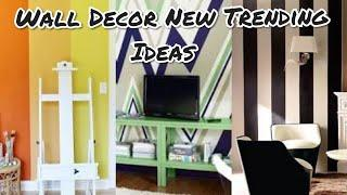 Wall Decor New Trending Ideas | Wall Paint Ideas | Wall paper Ideas