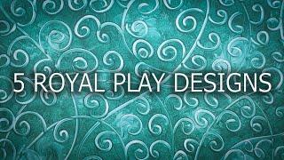 Royal Play Design Texture paint designs