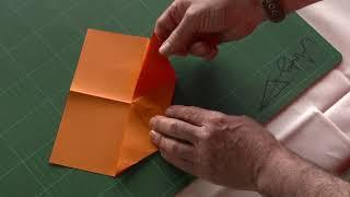 Andy Chipling - How to make the best paper aircraft (Maureen) in the World
