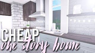 CHEAP ONE STORY HOME | 35k | BLOXBURG BUILD