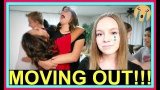 MOVING OUT! | BEFORE AND AFTER HOME DECORATING!