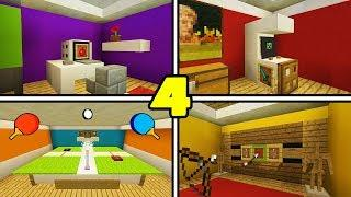 Minecraft Tutorial: 4 Awesome Things to add to your house!