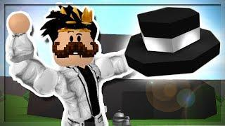 I MADE A GIANT TOP HAT HOUSE IN ROBLOX BLOXBURG!